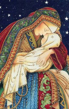 American Greetings Mary and Baby Jesus Box of 14 Religious Christmas Cards for sale online Divine Mother, Blessed Mother Mary, Blessed Virgin Mary, Religious Christmas Cards, Christmas Nativity Scene, Catholic Art, Religious Art, Mama Mary, Jesus Art