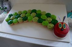 Very Hungry Caterpillar Birthday Party Ideas | Photo 1 of 46 | Catch My Party
