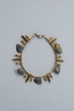 Tico Shell Bullet Tip Anklet by BrianneCossette on Etsy, $45.00