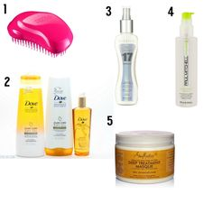 Best Products for Thick Hair - October June