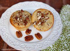 Gourmet Girl Cooks: Peach Pecan Muffins - Easy & Dellicious