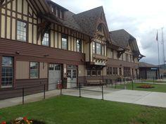 Train Station at Whitefish, MT.