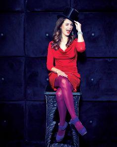 Eva Jinek in pantyhose - http://stockings-celebs.blogspot.com/2014/12/eda-marcus-elena-samodanova-elicia.html