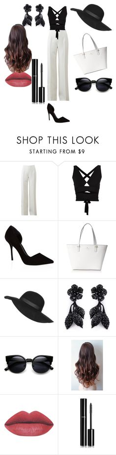 """#fashion #follow #followtofollow"" by jasminn99 ❤ liked on Polyvore featuring Michael Kors, Proenza Schouler, KG Kurt Geiger, Kate Spade, Topshop, Valentino and Chanel"