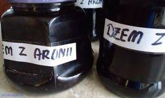Dżem z aronii przedłuża życie Slow Food, Berries, Food And Drink, Homemade, Smoking Food, Canning, Therapy, Cooking, Recipies