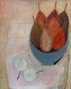 Still Life with Pears and Apples - Vivienne Williams