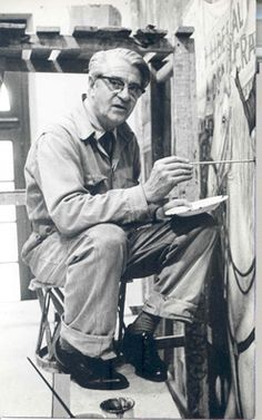 Juan O' Gorman, architect, Mexico Frida Kahlo Diego Rivera, Clemente Orozco, Elderly Person, Western Caribbean, Mexican Artists, Popular Art, Historical Pictures, Art And Architecture, Art Studios