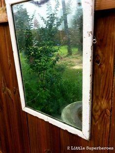 how to weatherproof a garden mirror, diy, gardening, how to, outdoor living, painting