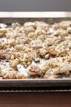 Roasted Cauliflower With Breadcrumbs and Parmesan
