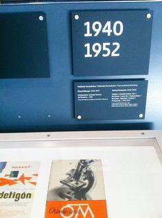 Museu del Disseny de Barcelona.Aportada por Beatriz Lucea Valero #cartelaperfecta