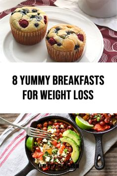 Check out this collection of amazing weight loss recipes for breakfast. Eat these meals to lose weight fast! #weightlossrecipes #howtoburnfat #howtoloseweight