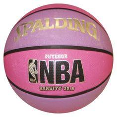 Spalding NBA Varsity Basketball - Pink/Purple (28.5 #PinToWinYourSummerWishListContest