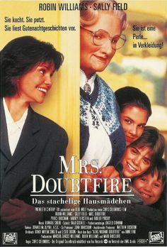 Poster zum Film: Mrs. Doubtfire - Das stachelige Kindermädchen