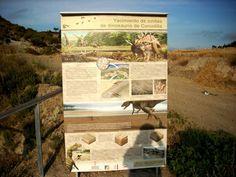 """#Senderismo en la C.Valenciana, Alpuente, no sólo para andar o """"cicloturistear"""" sino también para ver dinosaurios vía @wikijuan"""