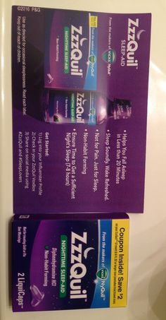 Just received this complimentary ZzzQuil gift from Influenster to test out ! Super excited and can't wait to try it out !
