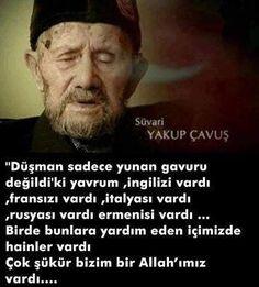 """o ki, Tek Yaradan, bir tek yarattığı """"Mustafa Kemal'i"""" de bize kattı.Çok şükür. Muhammed Sav, Don't Forget, Knowledge, History, Sayings, Words, Instagram Posts, Allah Islam, Deen"""