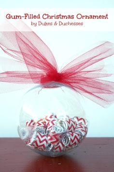 gum-filled Christmas ornament  #GiveExtraGum #shop #cbias