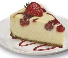 Low Carb Cheesecake - cream cheese, whipping cream, vanilla, sweetener.