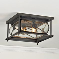 Hampton Indoor/Outdoor Ceiling Light @ Shades of Light (or this for front porch?)