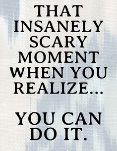 That insanely scary moment when you realize...you CAN do it! // Derby