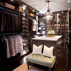 Closets that inspire us at Copper Creek Homes in Vancouver, WA www.coppercreekhome.com