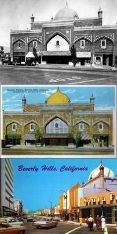 The Beverly Theatre, Wilshire Blvd. & Beverly Drive, Beverly Hills, CA