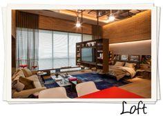 projeto de loft integrado