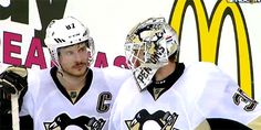 4/28/16: Game 1, Round 2 - 2016 Stanley Cup Playoffs - #Pens Captain Sidney Crosby and Goaltender Matt Murray's Looks Say It All in a Hard-Fought Game 1 #PITvsWSH #LetsGoPens #maljic #sidbest