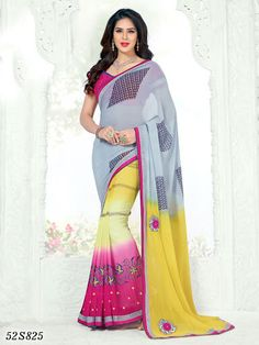 Georgette Sarees, Ethnic, Sari, Filter, Collection, Link, Fashion, Saree, Moda