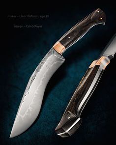Knife Pic of the Day: Liam Hoffman was only 19 years old when he made this kukri. #knifecollecting http://www.blademag.com/?utm_content=buffer7f8cb&utm_medium=social&utm_source=pinterest.com&utm_campaign=buffer