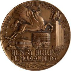 Henry Hering Memorial Award Medal by Albino Manca (1959)