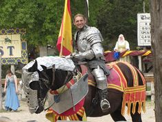 Jousting at Sherwood Forest Faire! http://thewiseserpent.blogspot.com/2013/03/sherwood-forest-faire-last-weekend.html