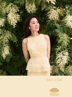 Discover why Michelle Yeoh, a famous actress for Hong Kong action films, is a loyal fan of Mandarin Oriental Hotel Group Happy Birthday Michelle, Hotel Ads, Mary Mccartney, Adam Brown, Michelle Yeoh, My Fair Lady, Mandarin Oriental, Kate Bosworth, Best Actress