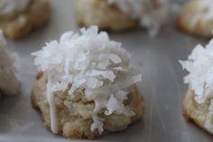 Lime-Glazed Coconut Snowballs