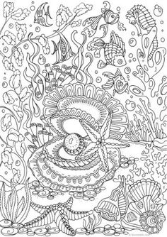 Free Printable Ocean Coloring Pages For Adults : printable, ocean, coloring, pages, adults, Under, Coloring, Pages, Adults