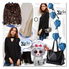 """""""Shein"""" by ilona-828 ❤ liked on Polyvore featuring Maticevski, Yves Saint Laurent, Dries Van Noten, StreetStyle and shein"""