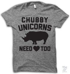 Chubby unicorns need love too!