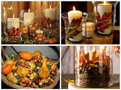 Visit our site for great interior design, home staging, landscape design, gardening and home improvement tips and ideas. Diy Halloween Decorations, Fall Decorations, Thanksgiving Decorations, Halloween Diy, Thanksgiving 2013, Thanksgiving Blessings, Holiday Decorating, Decorating Tips, Holiday Treats