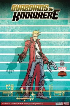 GUARDIANS OF KNOWHERE (2015) #1 (YOUNG CONNECTING VARIANT B)