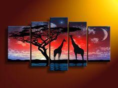 Animal land,nice artwork for interior room decoaration - Direct Art Australia. http://www.directartaustralia.com.au/