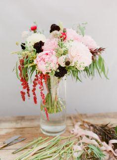 DIY Tutorial ~ Bridesmaids bouquet