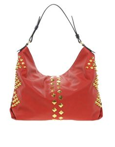 Enlarge ASOS Studded Hobo Bag