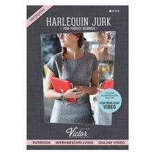Harlequin jurk