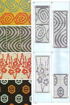 Machine Knitting Punchard Patterns on Pinterest Knitting Machine, Pattern L...