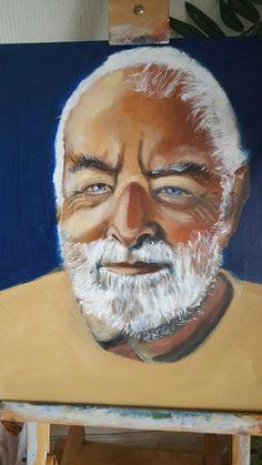 Noel's Portrait - in oils