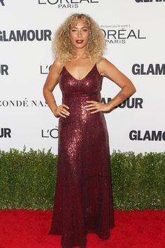 Singer Leona Lewis attends Glamour Women Of The Year 2016 at NeueHouse Hollywood on November 14, 2016 in Los Angeles, California.