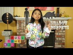 How to Make Shadow Puppets   Full-Time Kid   PBS Parents - YouTube