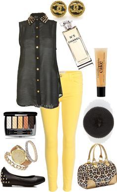 """""""Simple Spring Outfit"""" by nita-edwards on Polyvore"""