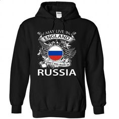 I May Live In England But I Was Made In Russia (NEW V10 - #tshirt ideas #tshirt stamp. I WANT THIS => https://www.sunfrog.com/LifeStyle/I-May-Live-In-England-But-I-Was-Made-In-Russia-NEW-V10-4104-Black-Hoodie.html?68278