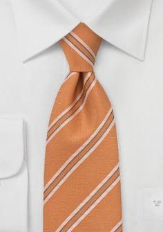 Krawatte strukturiert kupfer